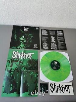 SLIPKNOT lim lightgreen marbled Vinyl LP + Poster Mate Feed Kill Repeat (2017)