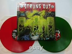 STRUNG OUT Live In A Dive 2xLP RED/GREEN VINYL withCOMIC BOOK NOFX PUNK UNPLAYED