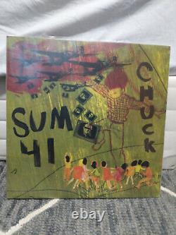 SUM 41- Chuck CAMO GREEN Vinyl Second Pressing 1/500 (Shopradiocast Exclusive)