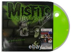 Signed Misfits Autographed Project 1950 Green Vinyl Lp Certified Jsa # Ii10643