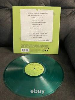 THE PERKS OF BEING A WALLFLOWER Soundtrack LIMITED EDITION GREEN Vinyl LP