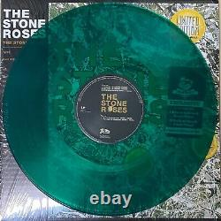 THE STONE ROSES Self Titled Green Amber Colored Vinyl