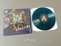 TOOL limited /150 transparent green-blue marbled Vinyl LP Live 2014 USA