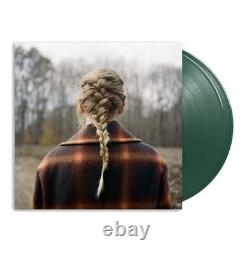 Taylor Swift Evermore (2-LP) Deluxe Edition Green Vinyl Pre-order