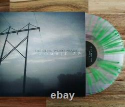 The Devil Wears Prada Zombie EP /200 Clear Green Splatter Vinyl Underoath Norma