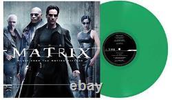 The Matrix Soundtrack Exclusive Limited LED Green Color 2x Vinyl LP #/300 VG
