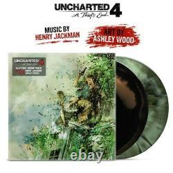 Uncharted 4 A Thiefs End Soundtrack Exclusive Green Brown Merge 2x Vinyl LP VGM