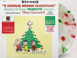 Vince Guaraldi A Charlie Brown Christmas Exclusive Green Red Splatter Vinyl