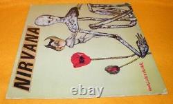 Vintage 1992 Geffen Sub Pop Records Nirvana Incesticide 12 Lp Album Vinyl Rare
