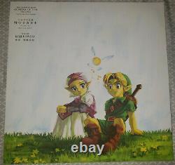 Zelda Ocarina of Time Volume 1 soundtrack Vinyl LP Vgm Ost Nintendo 64